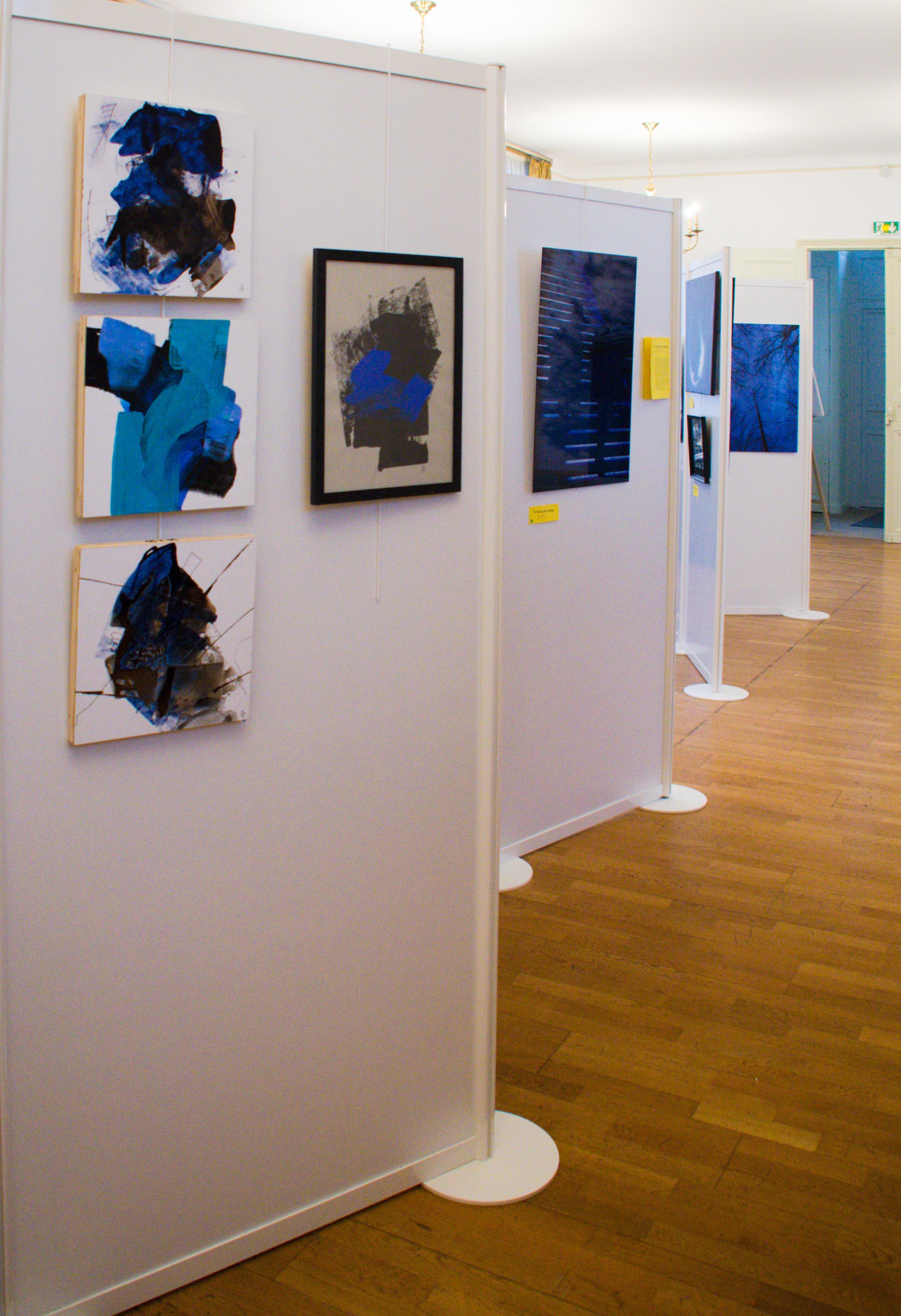 Exposition Black & Blue ©AnnickBideault