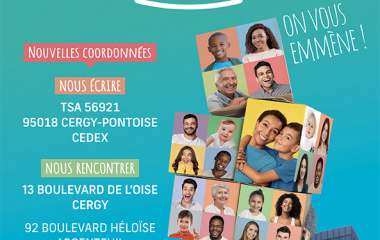 La CAF du Val d'Oise déménage