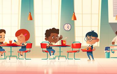 Cantine scolaire : consultez les menus en ligne !