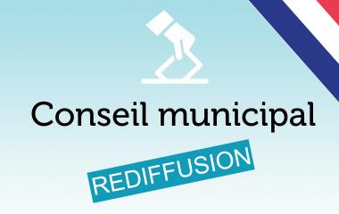 Rediffusion du conseil municipal du 30 juin 2020