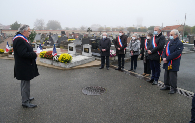 La commémoration du 11 novembre en images