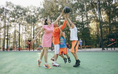 Une rentrée énergique avec Sport en famille