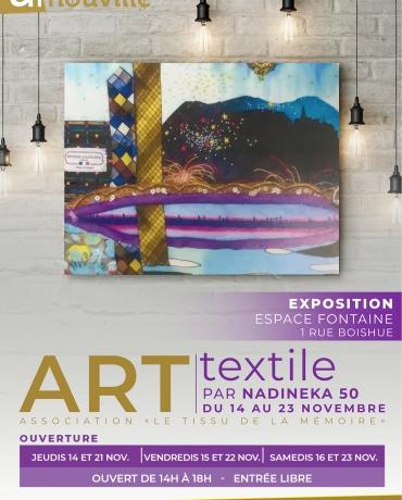 Exposition : Art textile