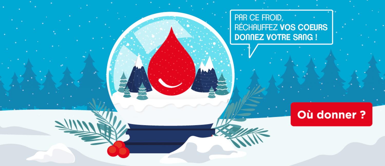 Don du sang : durant les fêtes restez mobilisés !