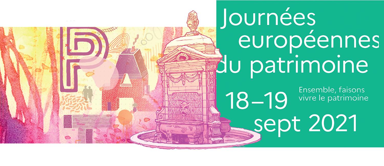 Les Journées européennes du patrimoine 2021
