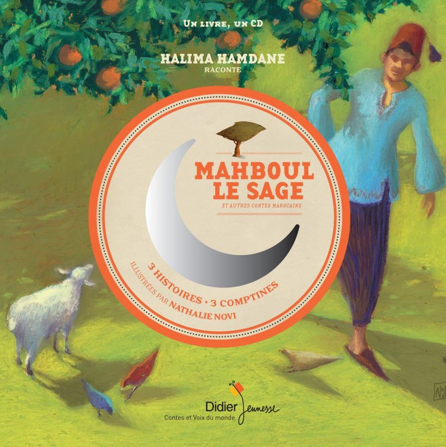 Couverture du livre Mahboul le Sage, éditions Didier Jeunesse
