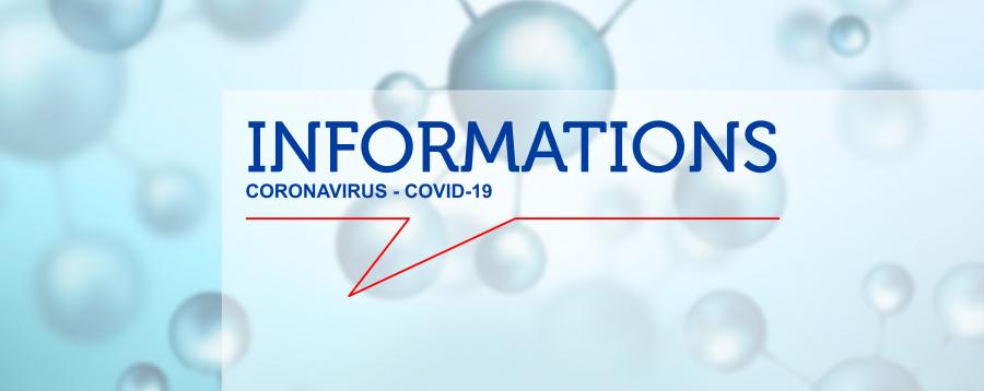 Informations Coronavirus - Covid 19