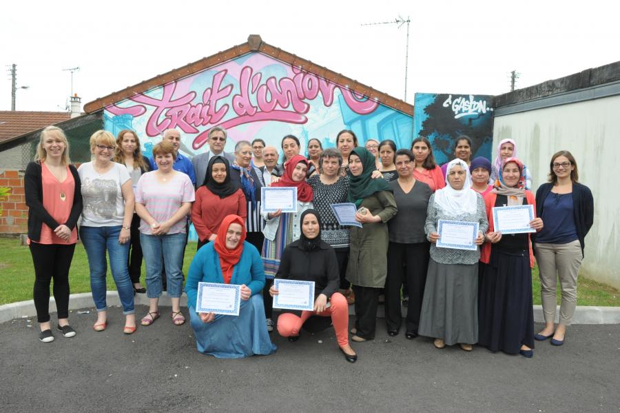 Remise de diplômes des ateliers sociaux-linguistiques 2016