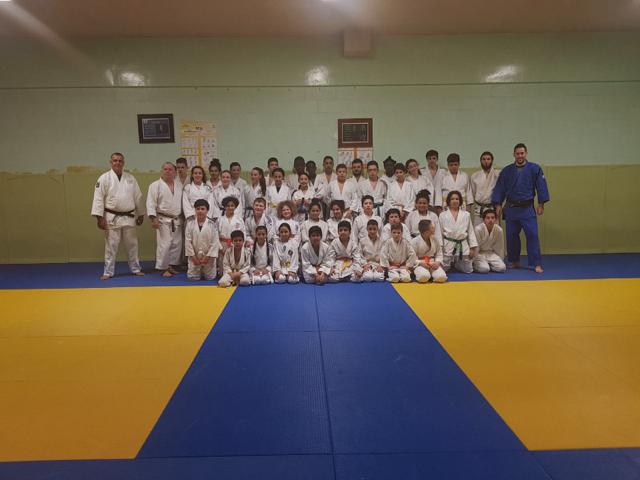 Judokas de l'AJF