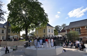 Inauguration de l'Espace Fontaine