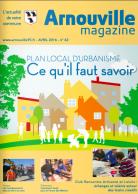 Couverture du magazine - Avril 2016