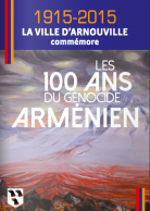 Couverture du programme des 100 ans du génocide arménien