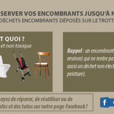 Informations encombrants