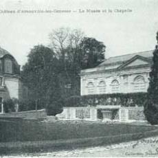Château et la chapelle au 17e siècle
