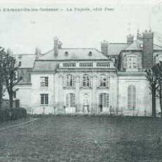 Château de face au 17e siècle