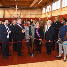Inauguration Léo Lagrange