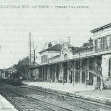 Gare en 1900