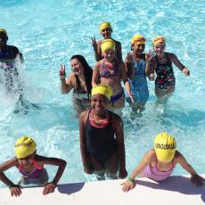 Été 2017, piscine de l'Isle Adam
