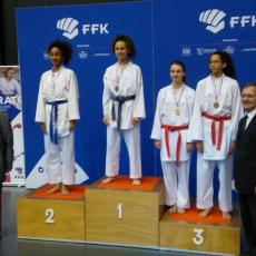 AKA - Oannell Audry médaillée de bronze au Championnat de France