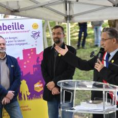 Inauguration du rucher d'Arnouville