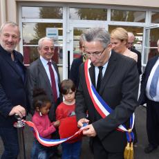 Inauguration de l'école Charles Perrault