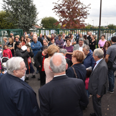 Inauguration de l'école Charles Perrault