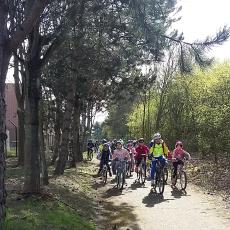 ECA - Journée jeunes 2018 - Sur le parcours des cyclistes